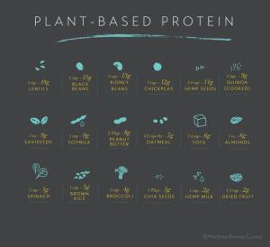 Ah, c'est fameuse protéine!